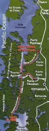 Patagonia Connection Map