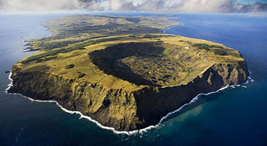easter island volcan
